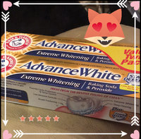 Arm & Hammer® Advance White® Extreme Whitening Baking Soda & Peroxide Fresh Mint Toothpaste 2-6 oz. Cartons uploaded by Gabrielle S.