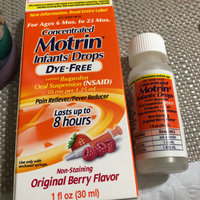 Motrin Infant Drops, Berry - 1 Fl Oz uploaded by Kellie A.