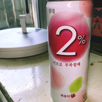 Lotte 2% Peach Flavoured Water uploaded by Elsie R.