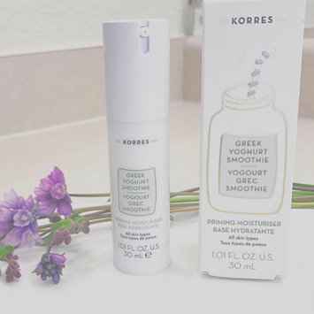 Photo of KORRES Greek Yoghurt Smoothie Priming Moisturiser 1.01 oz/ 30 mL uploaded by Jacqueline B.