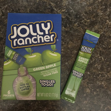 Photo of Jolly Rancher Singles-To-Go Sugar Free Green Apple Drink Mix, 6-ct (Pack of 6) uploaded by Mia P.