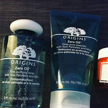 Photo of Origins Zero Oil Deep Pore Cleanser with Saw Palmetto & Mint uploaded by Farrah J.