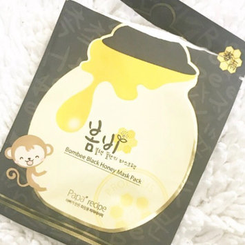 Photo of Papa Recipe Bombee Black Honey Mask Sheet uploaded by Amee H.