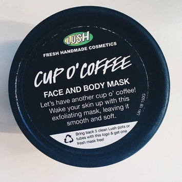 LUSH Cup O' Coffee Face and Body Mask uploaded by Elen M.