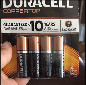 Duracell Coppertop AA Alkaline Batteries uploaded by amanda m.