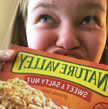 Photo uploaded to Nature Valley™ Almond Sweet & Salty Nut Granola Bars by Holly Z.