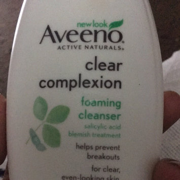 Photo of Aveeno Clear Complexion Foaming Cleanser uploaded by Angel A.