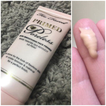 Photo of Too Faced  Primed & Poreless Skin Smoothing Face Primer uploaded by Taylor C.