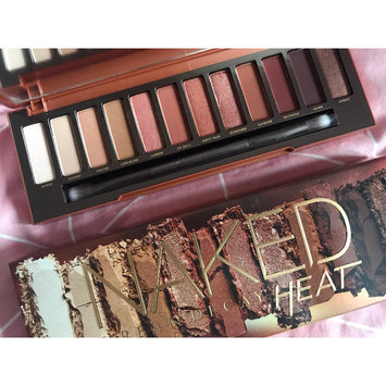 Photo of Urban Decay Naked Heat Eyeshadow Palette uploaded by Rosie P.
