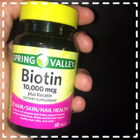 Spring Valley Biotin Tablets uploaded by Kansas B.