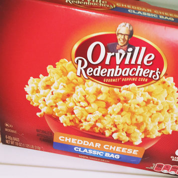 Photo of Orville Redenbacher's Cheddar Cheese Gourmet Popping Corn uploaded by Codie A.