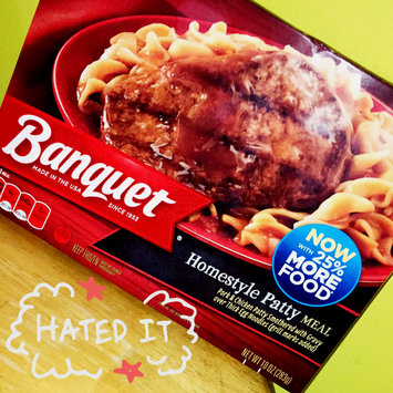 Photo of Banquet® Homestyle Patty Meal 10 oz. Box uploaded by Codie A.