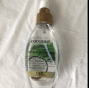 OGX® Coconut Oil Weightless Hydrating Oil Mist uploaded by Marissa M.