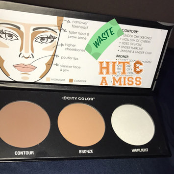 City Color Cosmetics Contour Effects Palette uploaded by Silvie P.