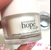 philosophy renewed hope in a jar refreshing & refining moisturizer uploaded by Megan C.