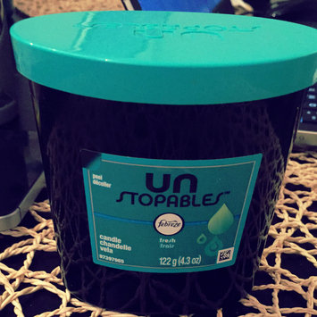 Candle Unstopables Scented Candle FRESH Air Freshener (1 Count, 4.3 oz) uploaded by nicole r.