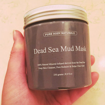 Photo of Pure Body Naturals Dead Sea Mud Mask uploaded by Madison W.