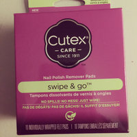 Cutex Swipe and Go Remover Pads 10 ct uploaded by MELISSA B.