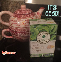 Traditional Medicinals Green Tea with Ginger Tea Bags uploaded by Linda M.