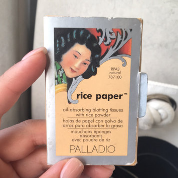 Palladio Rice Paper Powdered Blotting Tissues uploaded by Karina L.