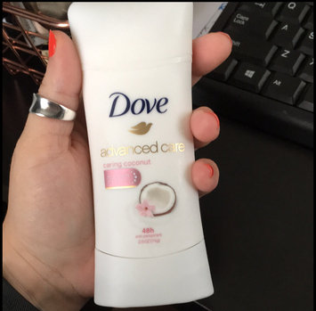 Dove Advanced Care Anti-Perspirant Deodorant, Caring Coconut, 2.6 oz uploaded by Megan C.