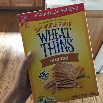 Photo of Nabisco Wheat Thins Original Crackers uploaded by Ciara G.