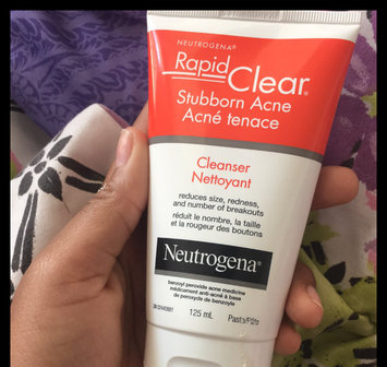 Photo of Neutrogena® Rapid Clear Stubborn Acne Cleanser uploaded by Aquay T.