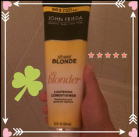 JOHN FRIEDA PRECISON John Frieda Sheer Blonde Everlasting Blonde Colour Preserving Conditioner uploaded by Mari C.