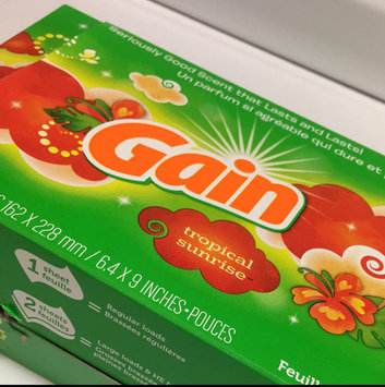 Photo of Gain Dryer Sheets uploaded by Madison H.
