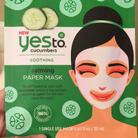 Yes to Cucumbers Soothing Calming Sheet Mask uploaded by Jessi S.