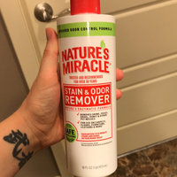 tures Miracle Nature's Miracle Stain & Odor Remover 64 oz. bottle uploaded by Megan W.