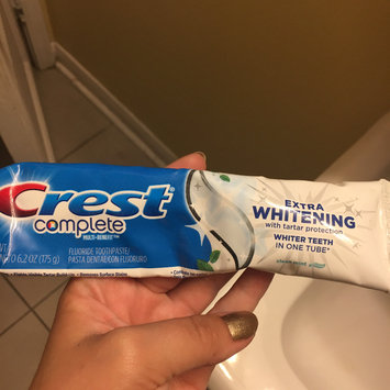 Photo of Crest Complete Extra Whitening Clean Mint Toothpaste uploaded by Amanda J.