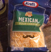 Kraft Finely Shredded Mexican Style Four Cheese Blend 8 oz. ZIP-PAK® uploaded by Thalia G.