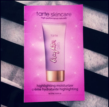 Photo of tarte Brighter Days Highlighting Moisturizer uploaded by HEATHER R.