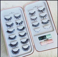 House of Lashes , Bombshell False Eyelashes 3 Combo Pack , Premium Quality False Eyelashes for a Great Value, Cruelty Free , Eco Friendly uploaded by Courtney G.