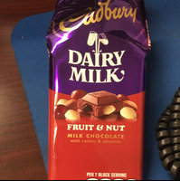 Cadbury Dairy Milk Fruit & Nut Milk Chocolate uploaded by Guadalupe O.