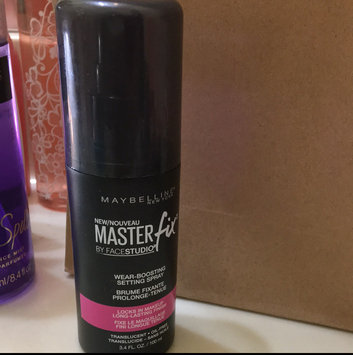 Maybelline Facestudio® Master Fix Wear-Boosting Setting Spray uploaded by Ashley G.