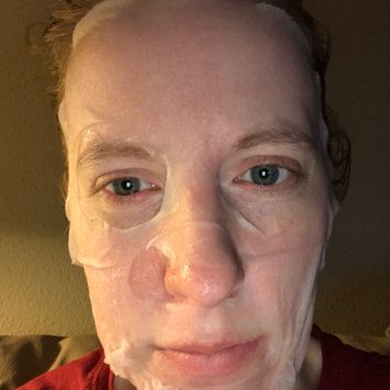Photo of FOUND BRIGHTENING Coconut Sheet Mask, 1 Single Use Mask uploaded by Laura S.
