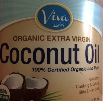 Viva Labs Organic Extra Virgin Coconut Oil, 32 Ounce (Pack of 2) uploaded by Emma J.