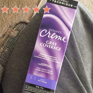 Photo of L'Oréal Excellence Creme Light Ash Brown uploaded by Wendy C.