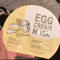 Too Cool For School Egg Cream Mask Hydration uploaded by Hailey R.