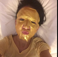 24K Premium Gold Collagen Beauty Face Mask for Anti Aging 10X Absorption for Professional Skin Care uploaded by Brittany S.