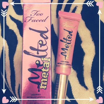 Too Faced Melted Metal Liquified Metallic Lipstick uploaded by Brandy B.