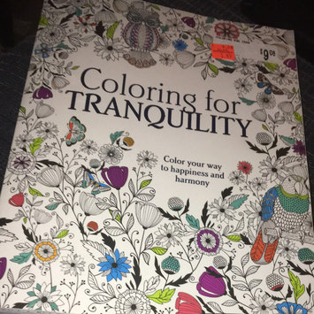 Photo of Parragon Coloring For Tranquility Adult Coloring Book uploaded by Jessica P.