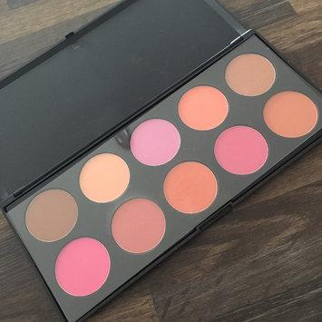 Photo of Bhcosmetics BH Cosmetics 10 Color Professional Blush Palette uploaded by Rasmin B.