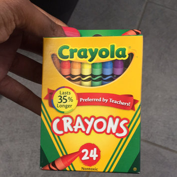Photo of Crayola 24ct Crayons uploaded by Lina M.