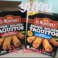El Monterey™ Beef, Cheddar & Monterey Jack Cheese Taquitos 8 ct Box uploaded by Vicki W.
