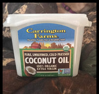 Carrington Farms - 100% Organic Pure Unrefined Cold Pressed Extra Virgin Coconut Oil uploaded by Angie D.