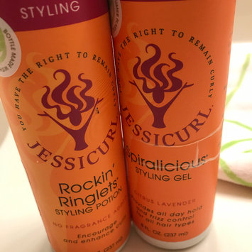 Photo of Jessicurl Spiralicious Styling Gel - Island Fantasy - 2 oz uploaded by Teresa C.