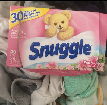 Photo of Snuggle® Fresh Spring Flowers™ Fabric Softener Dryer Sheets 40 ct Box uploaded by Anna M.